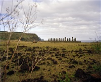 easter island by luca campigotto