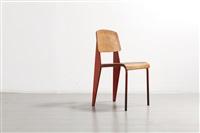 chaise métropole n° 305 / métropole n°305 chair by jean prouvé