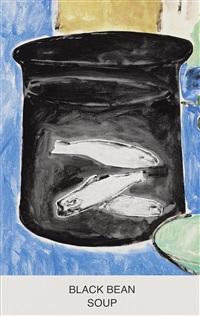 black bean soup by john baldessari
