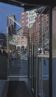 figure, 71st and broadway by richard estes