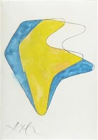 abstrakte komposition 2 by hans arp