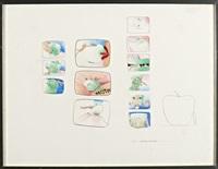untitled (no. 5 aphorisms / with apple?) by allen jones
