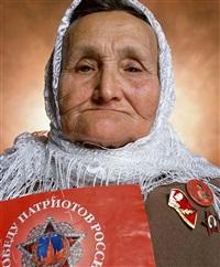russia (saleima ishakovna, stalinist) by andres serrano
