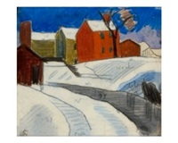south paterson, nj by oscar florianus bluemner