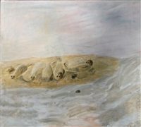 an outing to see the seals, blakeney by mary newcomb