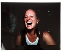 self-portrait laughing, paris 1999 by nan goldin