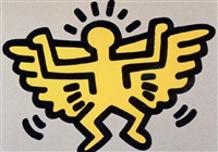 icons: angel by keith haring