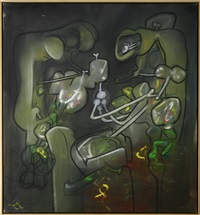 flash of flesh by roberto matta
