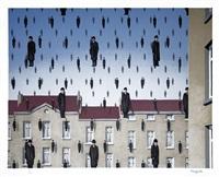 golconde (golconda) by rené magritte