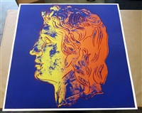 alexander the great by andy warhol