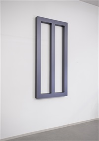 violet-gray window object i by gianni piacentino