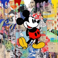 mickey mouse by mr. brainwash