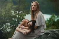 untitled; olya & zuzanna by yigal ozeri