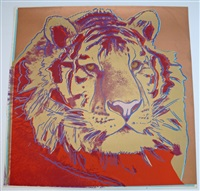 tiger by andy warhol