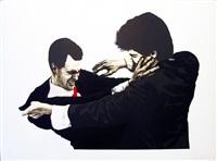 frank & glenn by robert longo