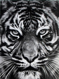 untitled (leo) by robert longo