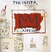 untitled (per capita) by jean-michel basquiat