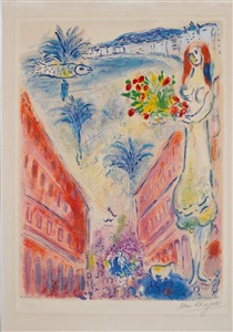 larsen art auction by marc chagall