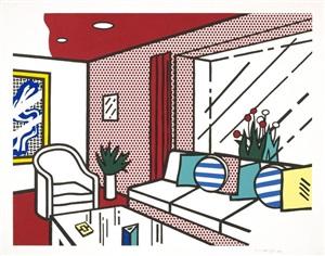 the living room by roy lichtenstein