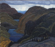 northern hills, lake superior by franklin carmichael