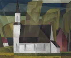 country church by alfred joseph casson