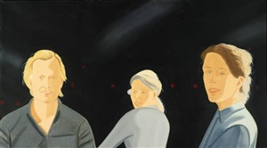 the wooster group by alex katz