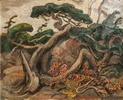 twisted pine by arthur lismer
