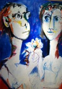 les amants by bernard lorjou