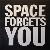 space forgets you by john giorno