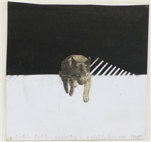 guard dog on a missile base no.5 by colin self