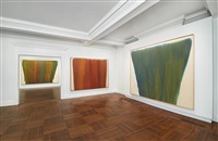 installation view by morris louis