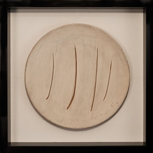 50 jahre . leben mit der kunstgalerie thomas - galerie thomas modern by lucio fontana