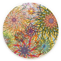black hole (dark energy, pearl white) by ryan mcginness