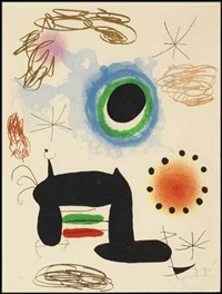 la ralentie by joan miró