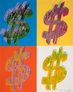 $ (quadrant) by andy warhol