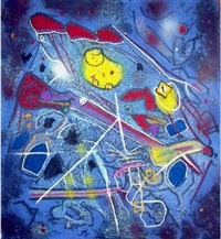 redness of blue by roberto matta