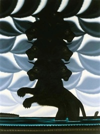 beast rising from the sea by roger brown