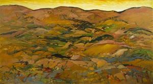 landscape 8002 by yehouda chaki