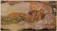 water serpents ii by gustav klimt