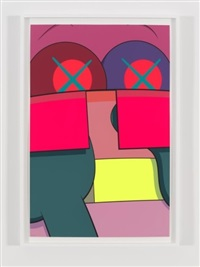 ups and downs #2 by kaws