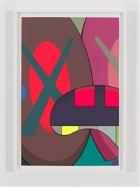 ups and downs #3 by kaws