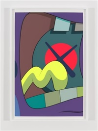 ups and downs #4 by kaws