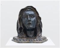 our lady of sorrows (mater dolorosa) (after pedro roldan) by paulina olowska
