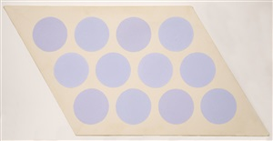 untitled (lavender circles) by thomas downing