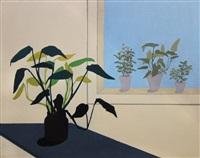 potted plant by marjorie virginia strider