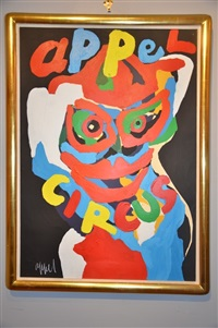 appel's circus by karel appel
