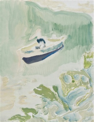cyril's bay by peter doig