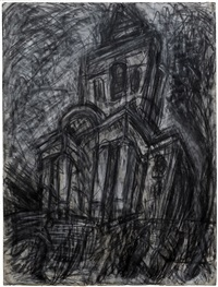 christ church, spitalfields by leon kossoff