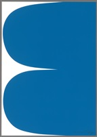 blue curves by ellsworth kelly