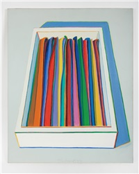 tie tray by wayne thiebaud